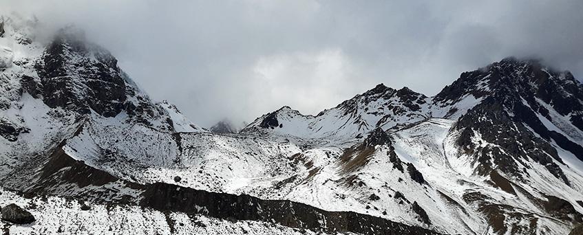Salkantay trek via Inca Trail