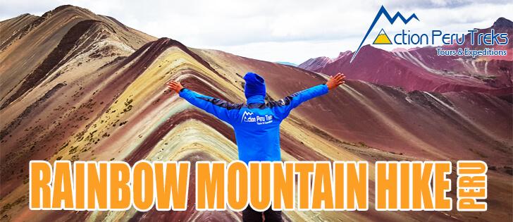 Rainbow Mountain Hike Peru with Action Peru Treks
