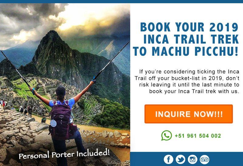 Inca Trail Trek 2019