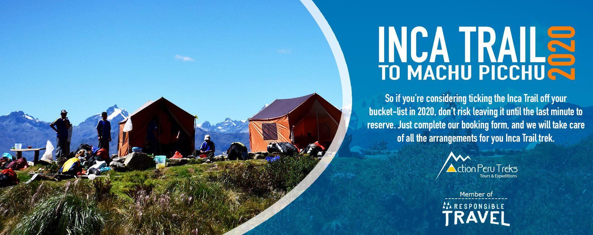 Hiking Inca trail 2020
